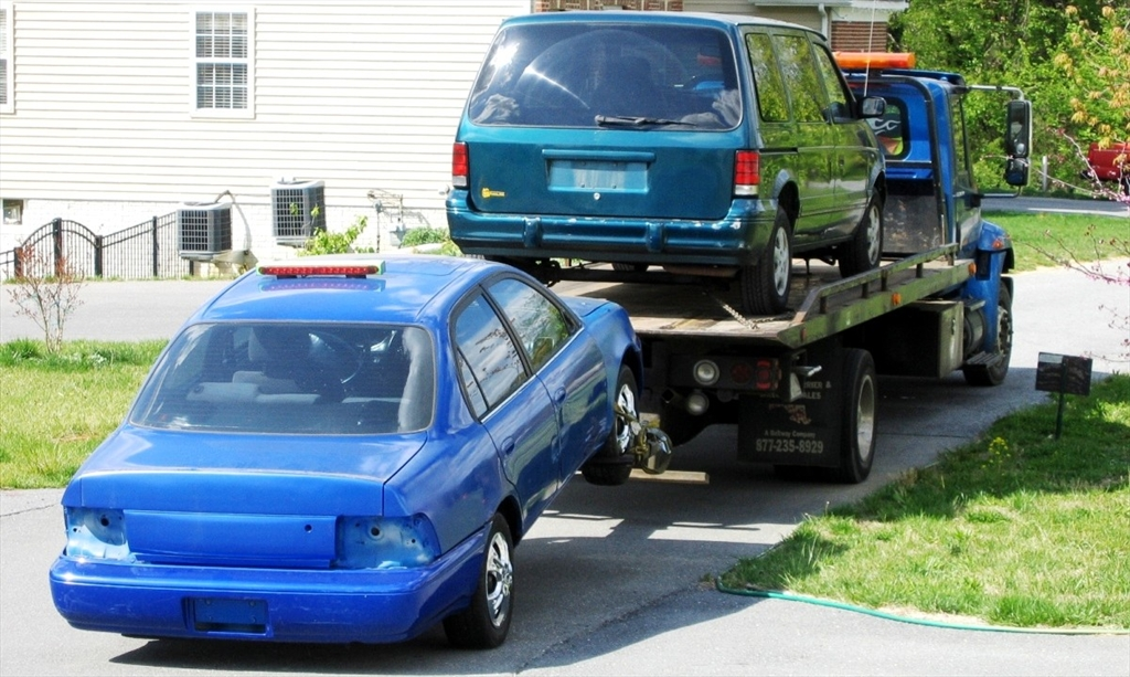 So the tow truck comes tomorrow.... 8013954259_large