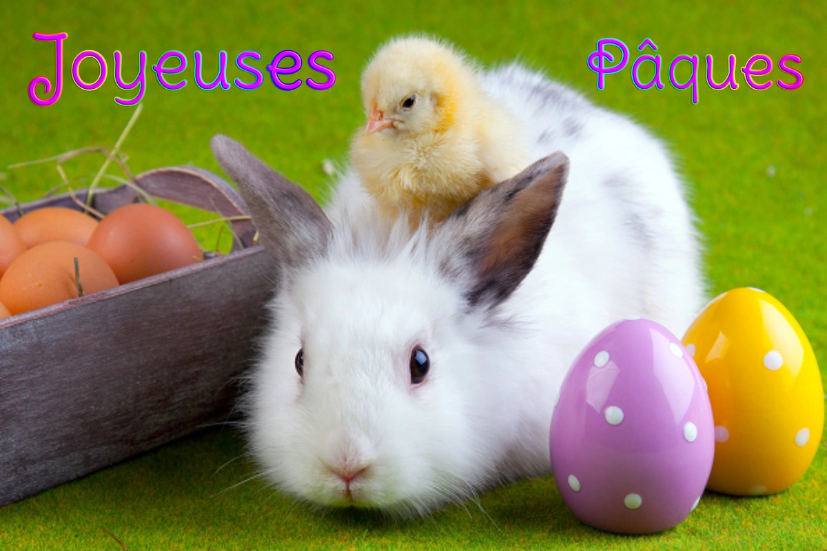 dimanche 1 avril  Joyeuses-paques