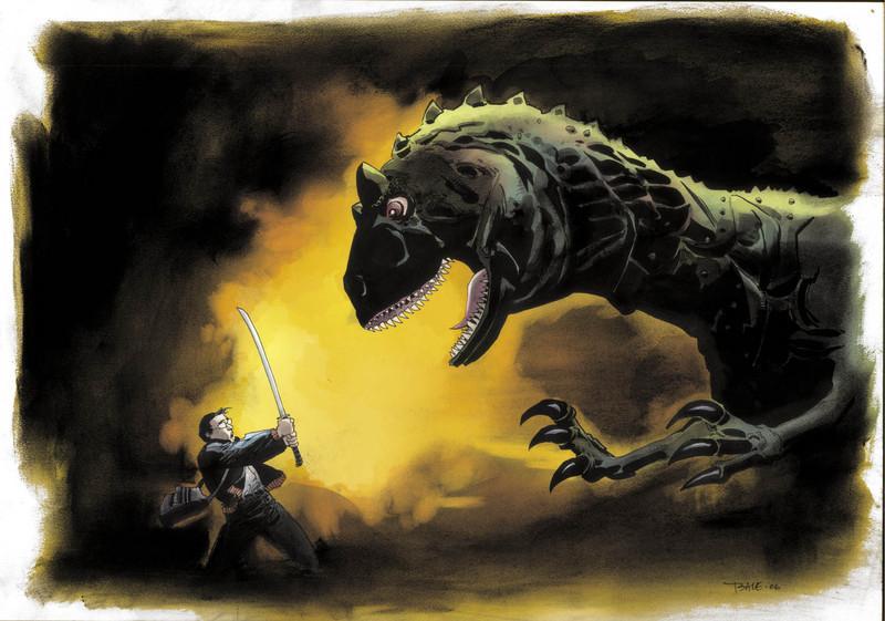 Imagen superior Painting_hiro_dinosaur