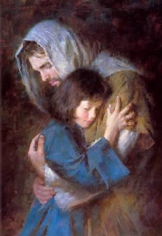 SUMMA DAEMONIACA Cristo-y-una-nina