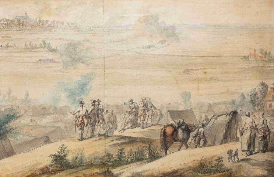 La vie interne au corps dans les armées de Louis XV Bataille