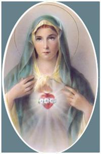 Cœur Immaculé de la Bienheureuse Vierge Marie - 22 août (anglais/français) 08.22.09