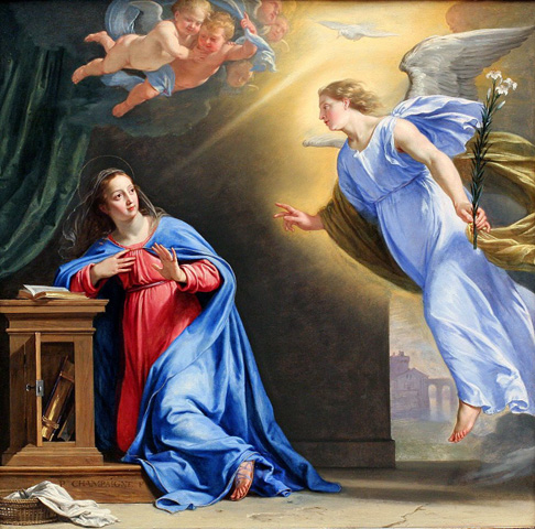 Feast of the Annunciation of the Blessed Virgin Mary Annunciation%20Weninger%2001
