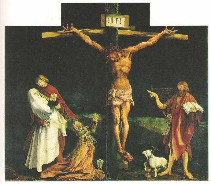 """Pourquoi vouloir retirer """"Piss Christ"""" - Page 29 Retable-gruenwald-7"""