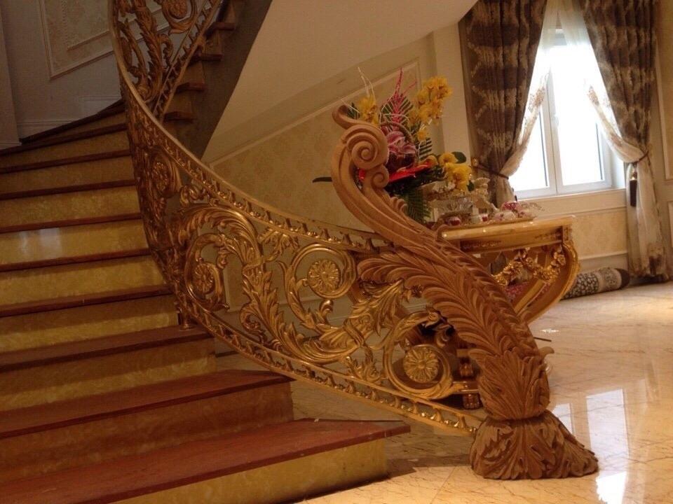 Cầu thang nhôm đúc và những thông tin cần thiết  111449660_orig