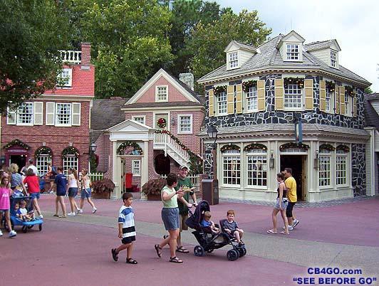 visite du Disney world magic Kingdom MagicKingdomLibertyStreet