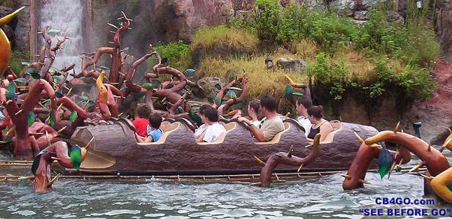 visite du Disney world magic Kingdom MagicKingdomSplashMtnClUp