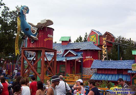 visite du Disney world magic Kingdom MagicKingdomToontownBarnstorm