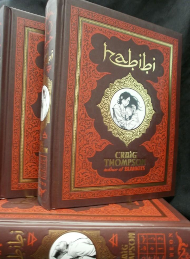 ¿Qué cómic estás leyendo? (o acabas de terminar) Habibi-cbldf-e1314730804767