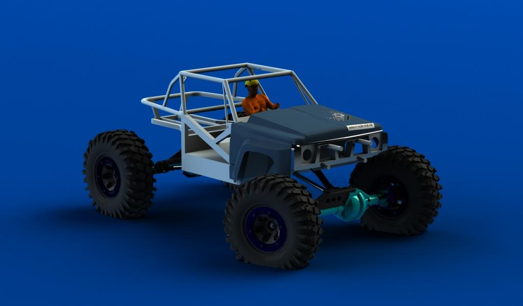 CONCEPTION 3D et IMPRESSION 3D (machine PRO) - Page 2 Carro-avant-patrol1