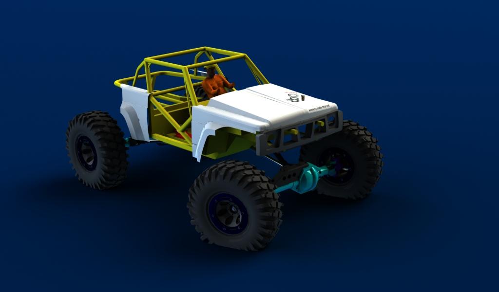 CONCEPTION 3D et IMPRESSION 3D (machine PRO) - Page 2 Carro-avant-patrol7