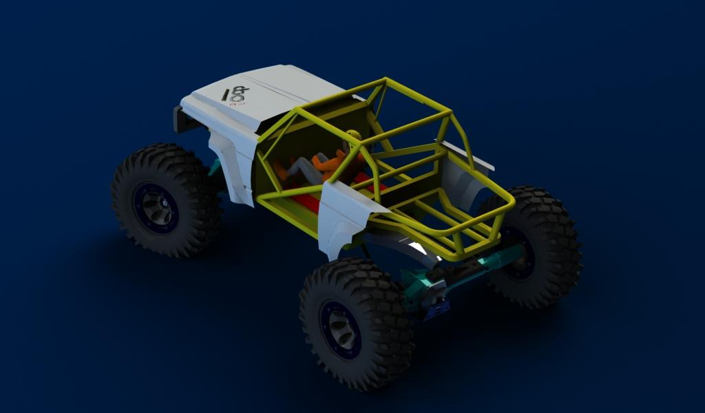 CONCEPTION 3D et IMPRESSION 3D (machine PRO) - Page 2 Carro-avant-patrol8