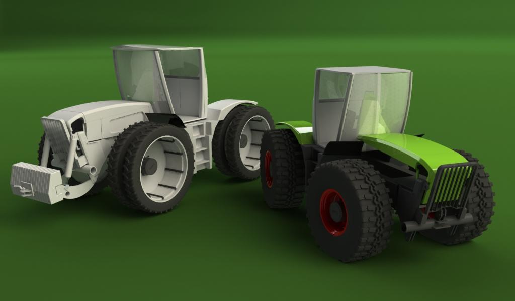 construction XERION echelle 1/8em R/C Comparatif2-xerion-avec-roues
