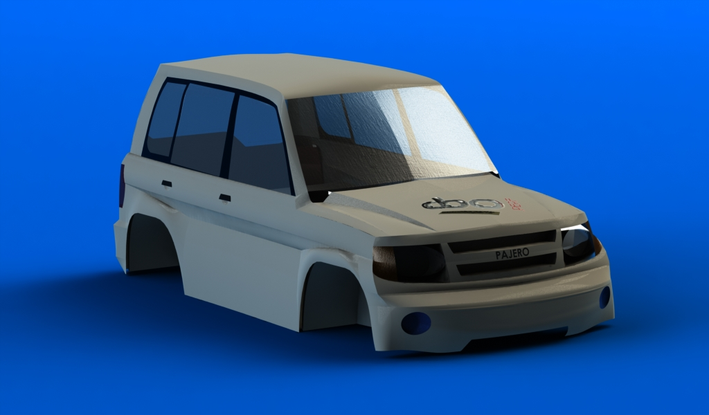 CONCEPTION 3D et IMPRESSION 3D (machine PRO) Pajero1