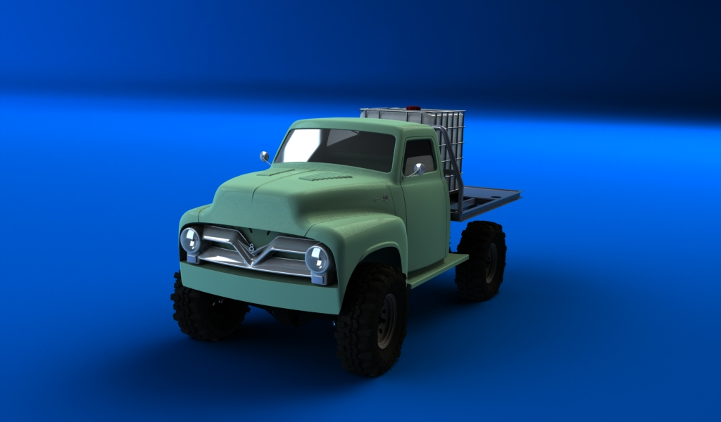 CONCEPTION 3D et IMPRESSION 3D (machine PRO) - Page 26 Pick-up-ford