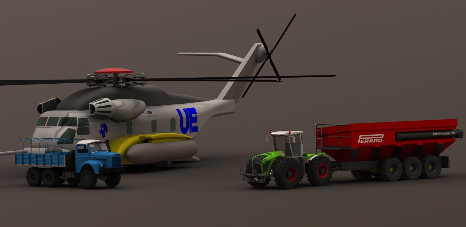 construction XERION echelle 1/8em R/C - Page 5 Sikorsky.10