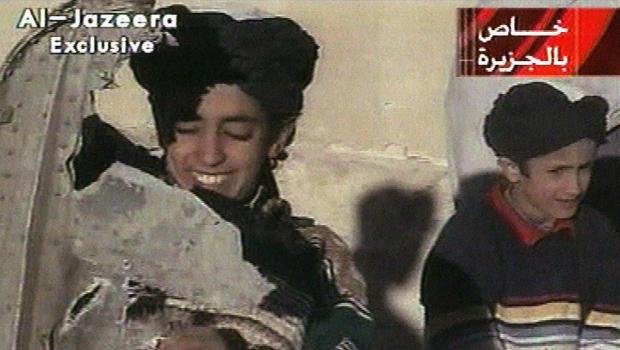 Hamza bin Laden, Osama bin Laden's son, hit with U.S. sanctions Hamza_AP01110503115