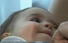 It's a boy! First baby born with DNA from 3 parents Cbsn020315threeparent340282640x360