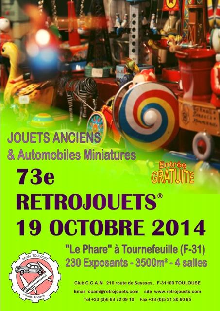 73e Bourse RETROJOUETS le 19/10/2014 à Tournefeuille Rt073-affiche-web