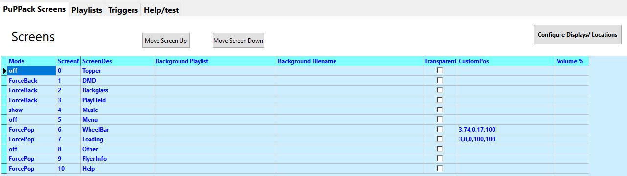 [RÉSOLU] Pin2DMD qui ne fonctionne pas dans la navigation de PinUp Screen