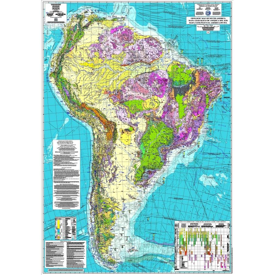 Le biotype, une préférence ou une utilité? Carte-geologique-de-l-amerique-du-sud