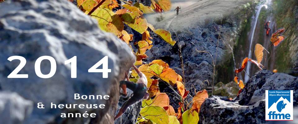 2ème édition de l'Echappée Blanche Voeux2014
