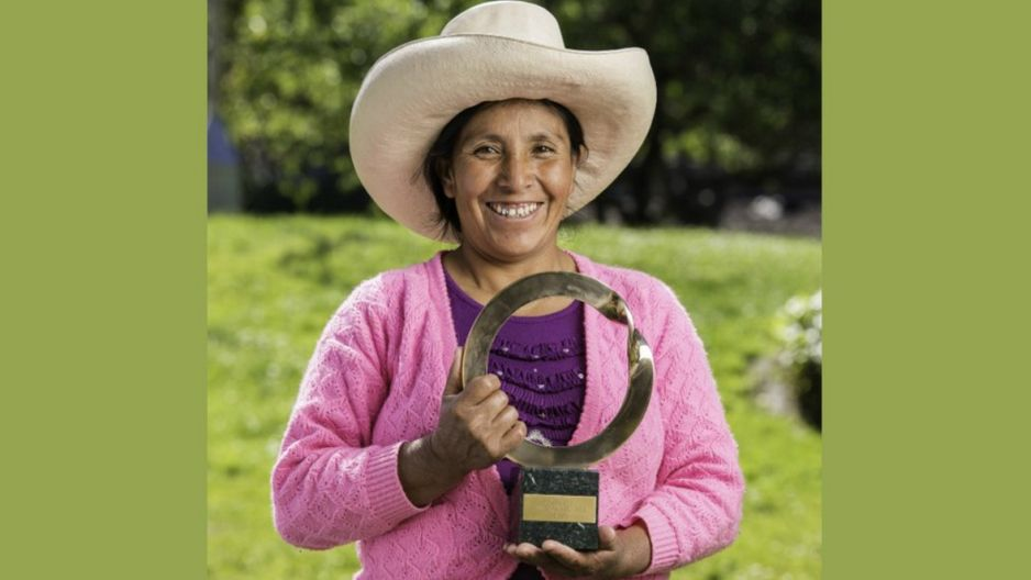 """Peruana recibe prestigioso  premio ambiental """"Goldman"""" 1152563"""