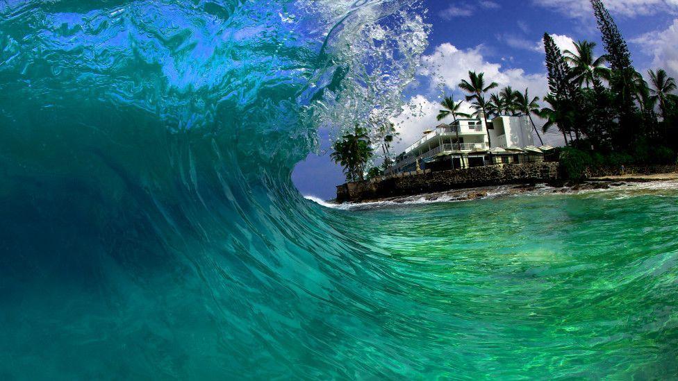 El mar azul.....la mar...sus olas 607425