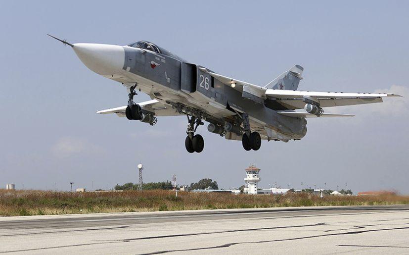 Aviación rusa ataca 1.458 objetivos del EI en Siria en 7 días 118710