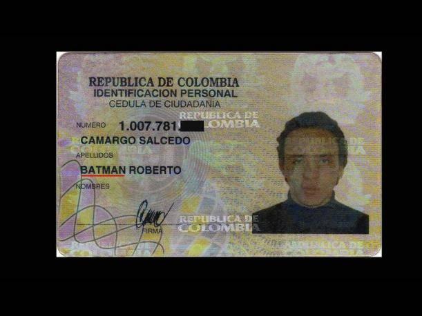 insolite !!  Documento-identidad