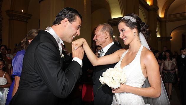 Maju en su boda 27432