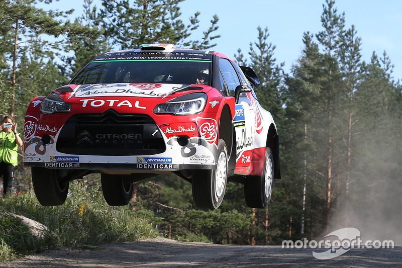 Finland WRC Wrc-rally-finland-2016-craig-breen-scott-martin-citroen-world-rally-team