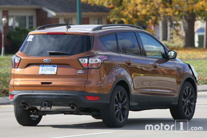 2015 - [Ford] Kuga/Escape Restylé - Page 2 Ford-kuga-escape-facelift-spy-photo