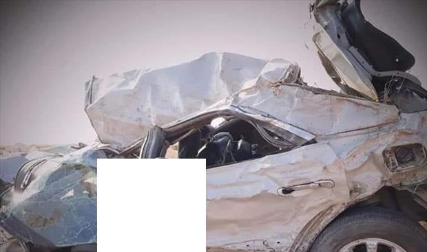 مصدر طبي: مصرع 4 شباب من درنة في حادث سيارة مروع VVrzGIqJ3YcqagE1pk5g