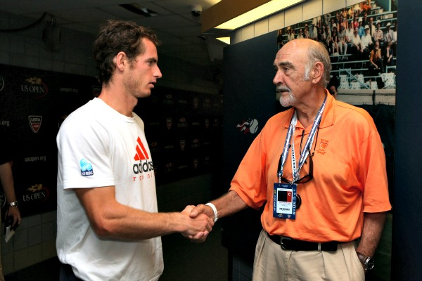 ¿Cuánto mide Andy Murray? - Altura - Real height Sean-connery-getty4