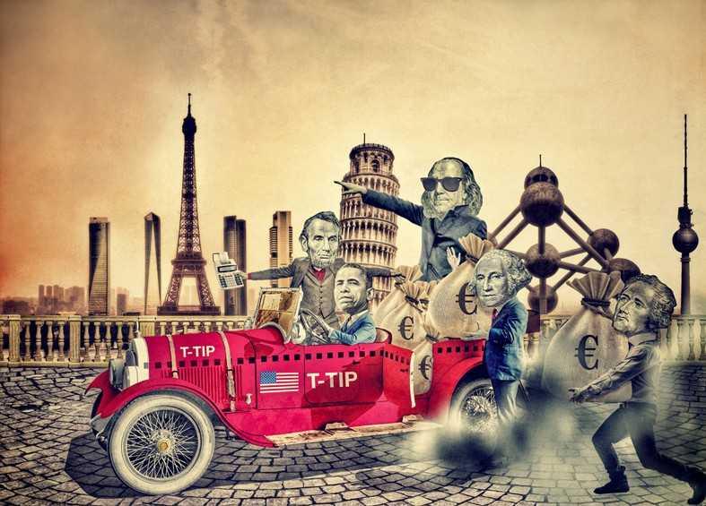 TTIP-Asociación Transatlántica para el Comercio y la Inversión. Acuerdo de libre comercio EUA-UE 207792-787-565