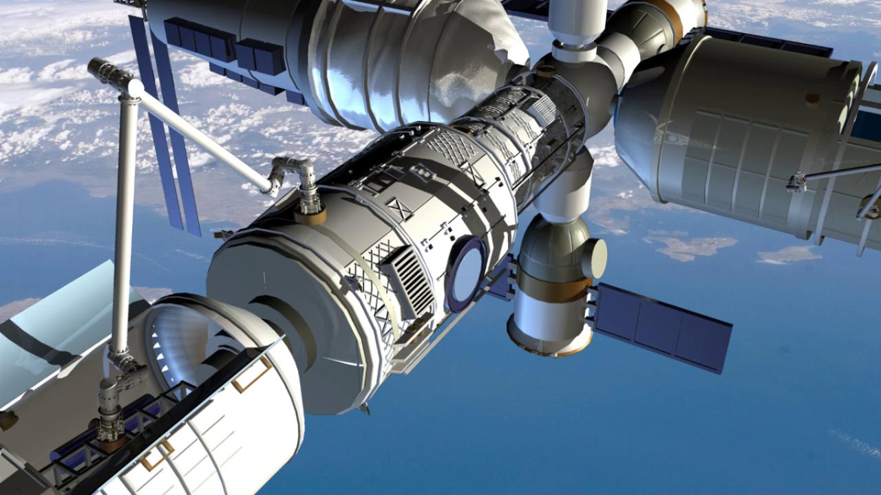 محطة الفضاء الصينية في طريقها الى الأرض دون سيطرة.. أين ستهبط؟! 61462602000000_169_1280
