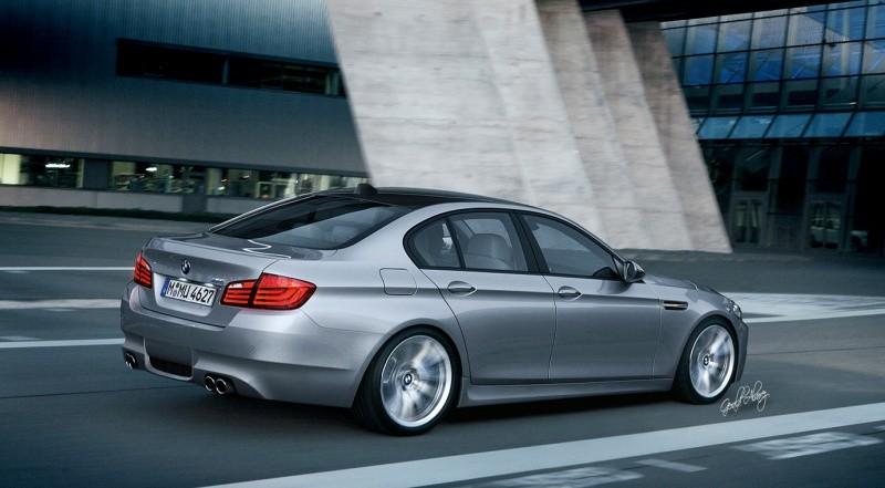 Nouvelle BMW M5  M5-F10.2