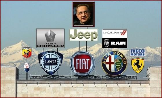 Fiat & Chrysler bientôt une direction unique  Fiat-Lancia-Alfa-Romeo-560x341