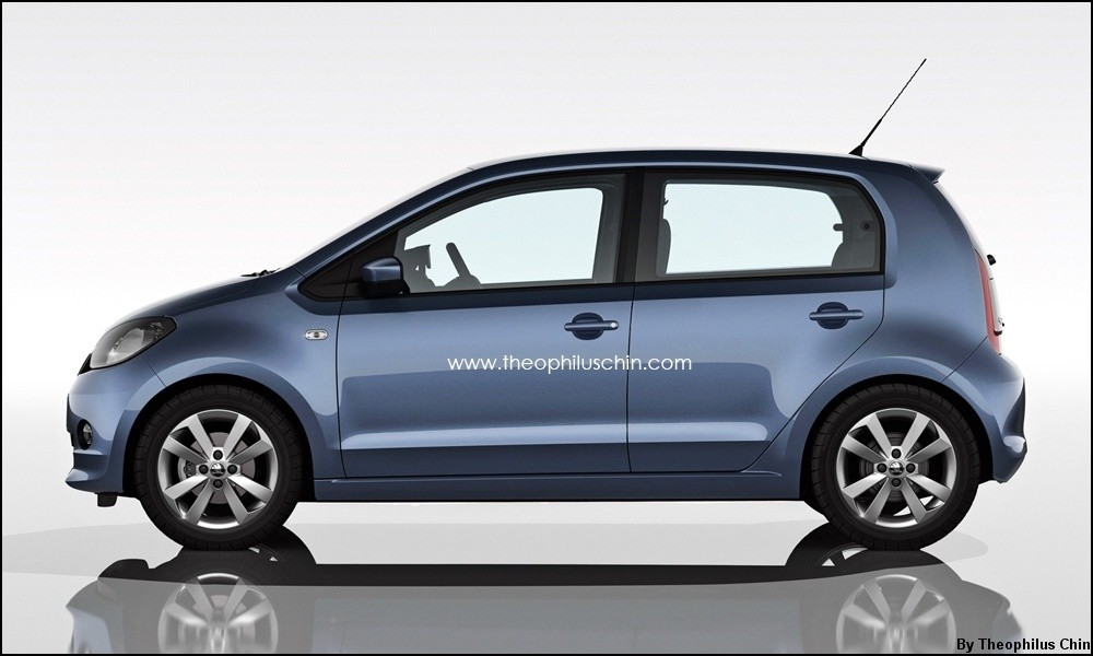2011 - [VW/Seat/Skoda] Up!/Mii/Citigo - Page 18 Skoda-Citigo-by-T.Chin_.2