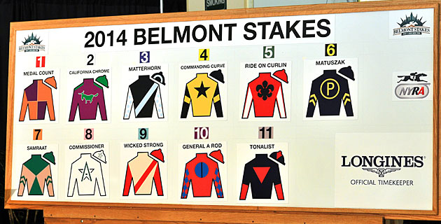 Triple Couronne 2014 - Page 4 BelmontDraw2014RS630