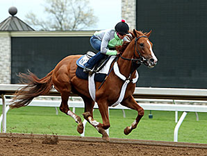 Route du Kentucky Derby/Kentucky oaks 2015 - Page 3 FrammentoMorningWorkoutKEE041615_2KEE298