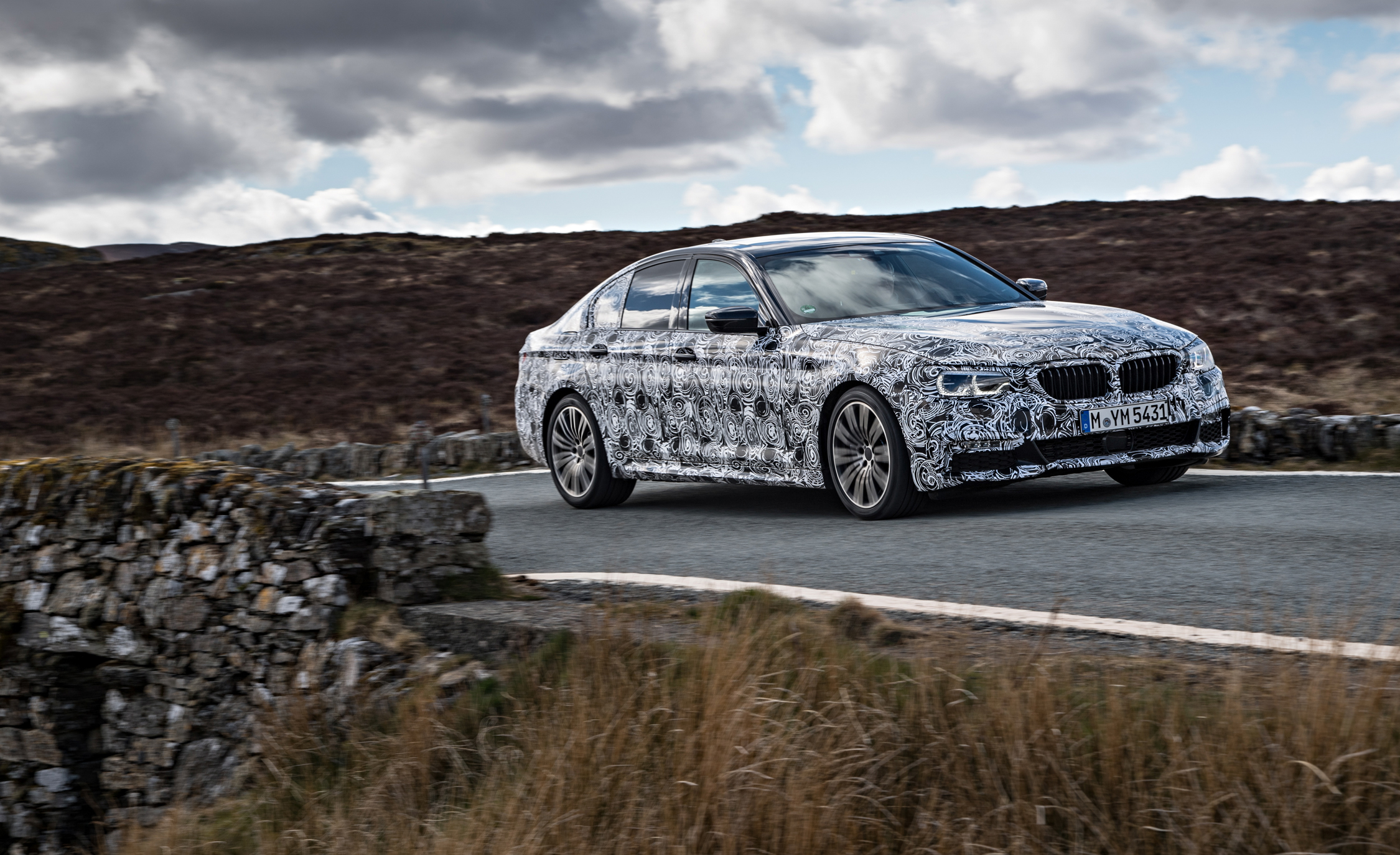 2016 - [BMW] Série 5 Berline & Touring [G30/G31] - Page 16 2018-BMW-5-series-prototype-104