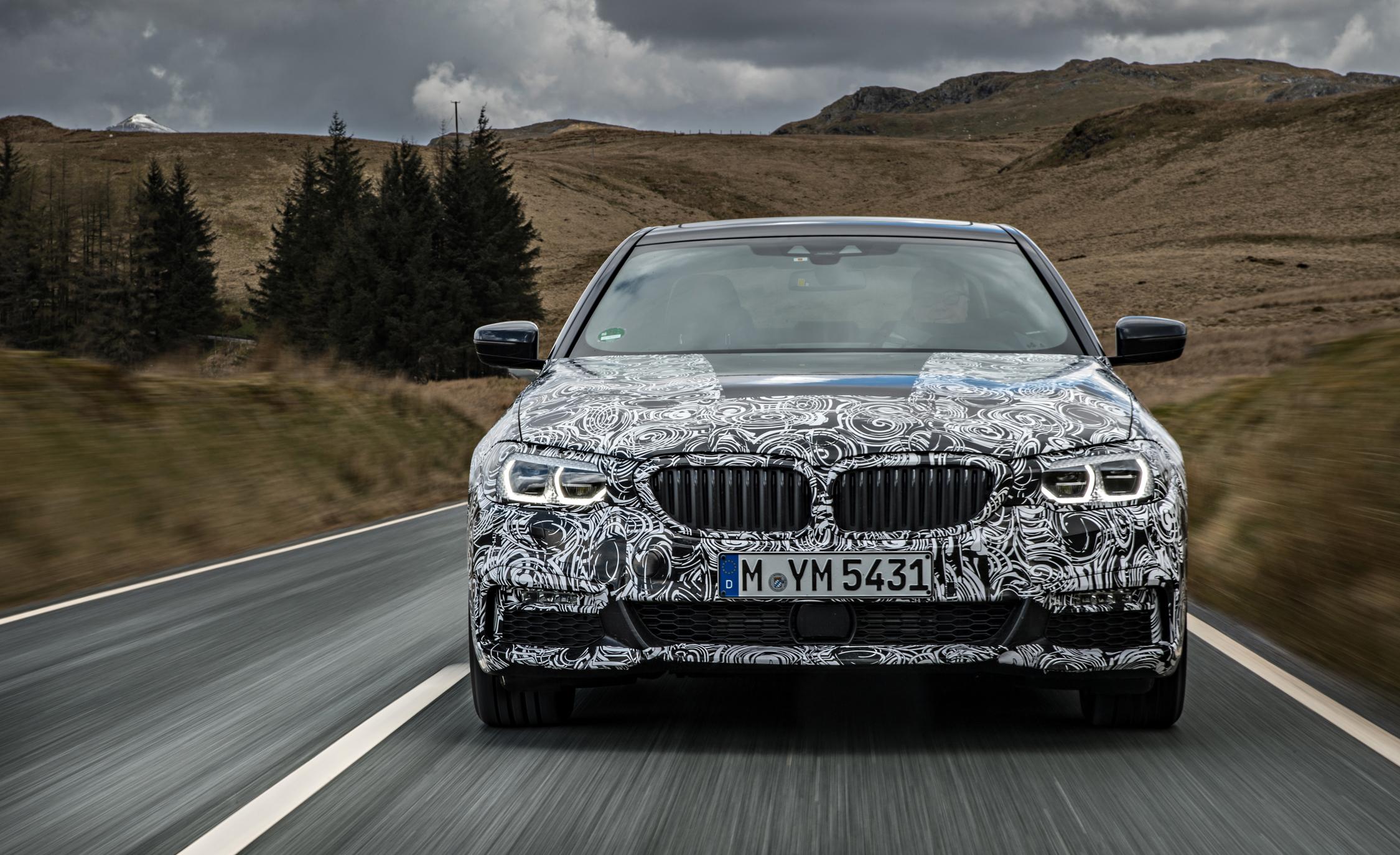 2016 - [BMW] Série 5 Berline & Touring [G30/G31] - Page 16 2018-BMW-5-series-prototype-107