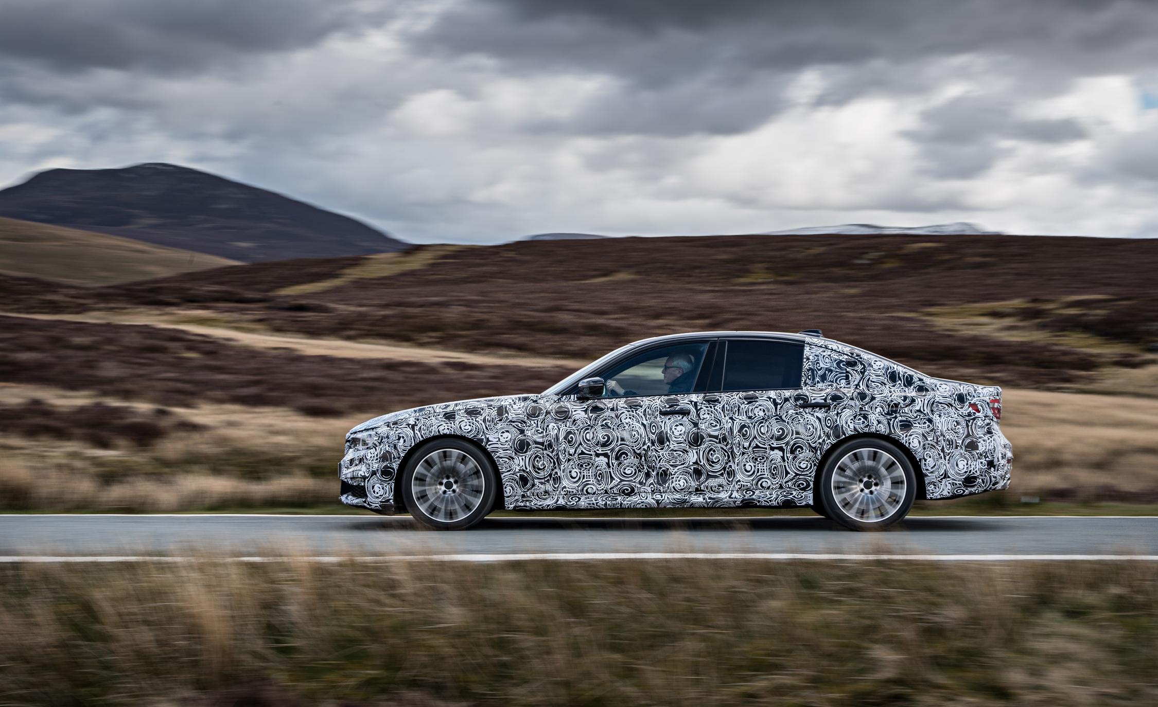 2016 - [BMW] Série 5 Berline & Touring [G30/G31] - Page 16 2018-BMW-5-series-prototype-112