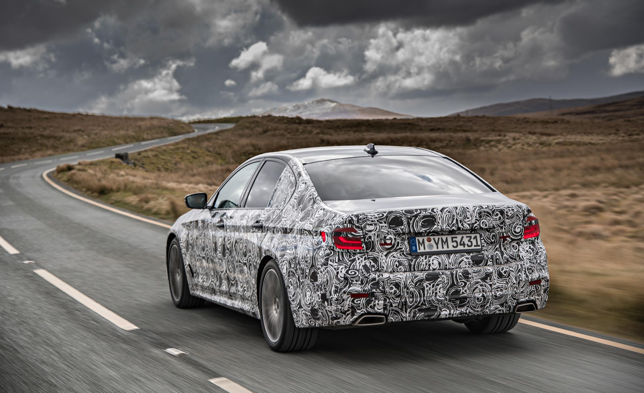 2016 - [BMW] Série 5 Berline & Touring [G30/G31] - Page 16 2018-BMW-5-series-prototype-114