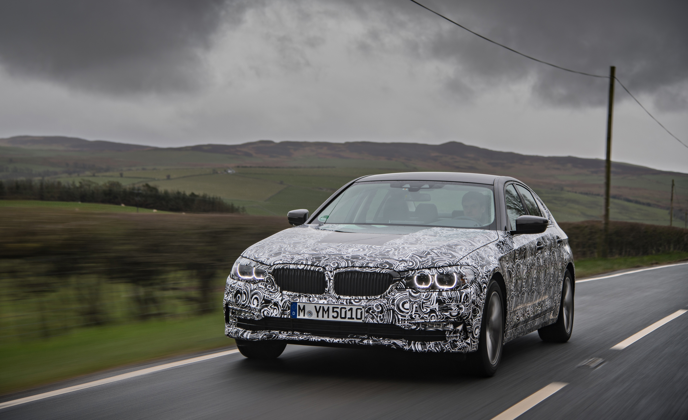 2016 - [BMW] Série 5 Berline & Touring [G30/G31] - Page 16 2018-BMW-5-series-prototype-131