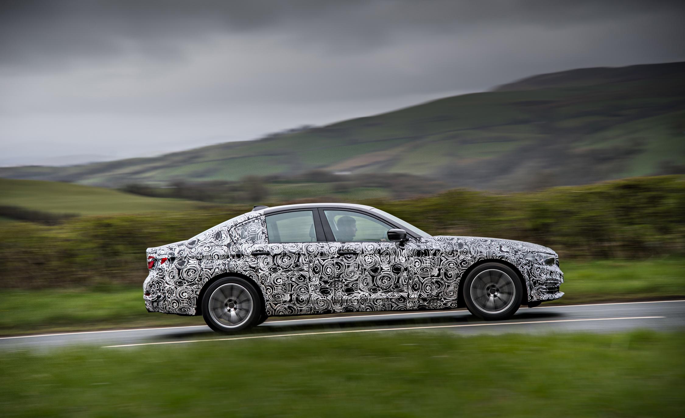 2016 - [BMW] Série 5 Berline & Touring [G30/G31] - Page 16 2018-BMW-5-series-prototype-135