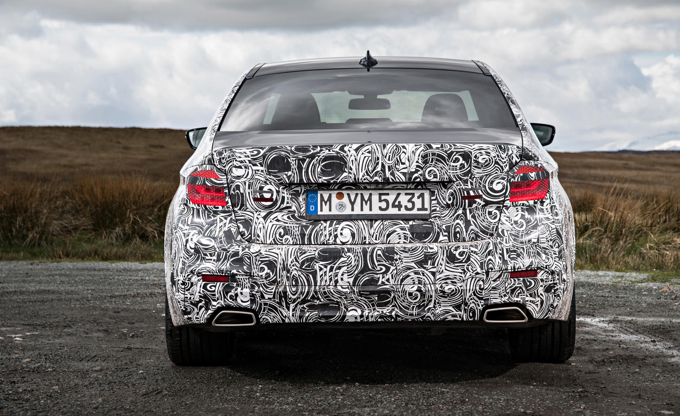 2016 - [BMW] Série 5 Berline & Touring [G30/G31] - Page 16 2018-BMW-5-series-prototype-138