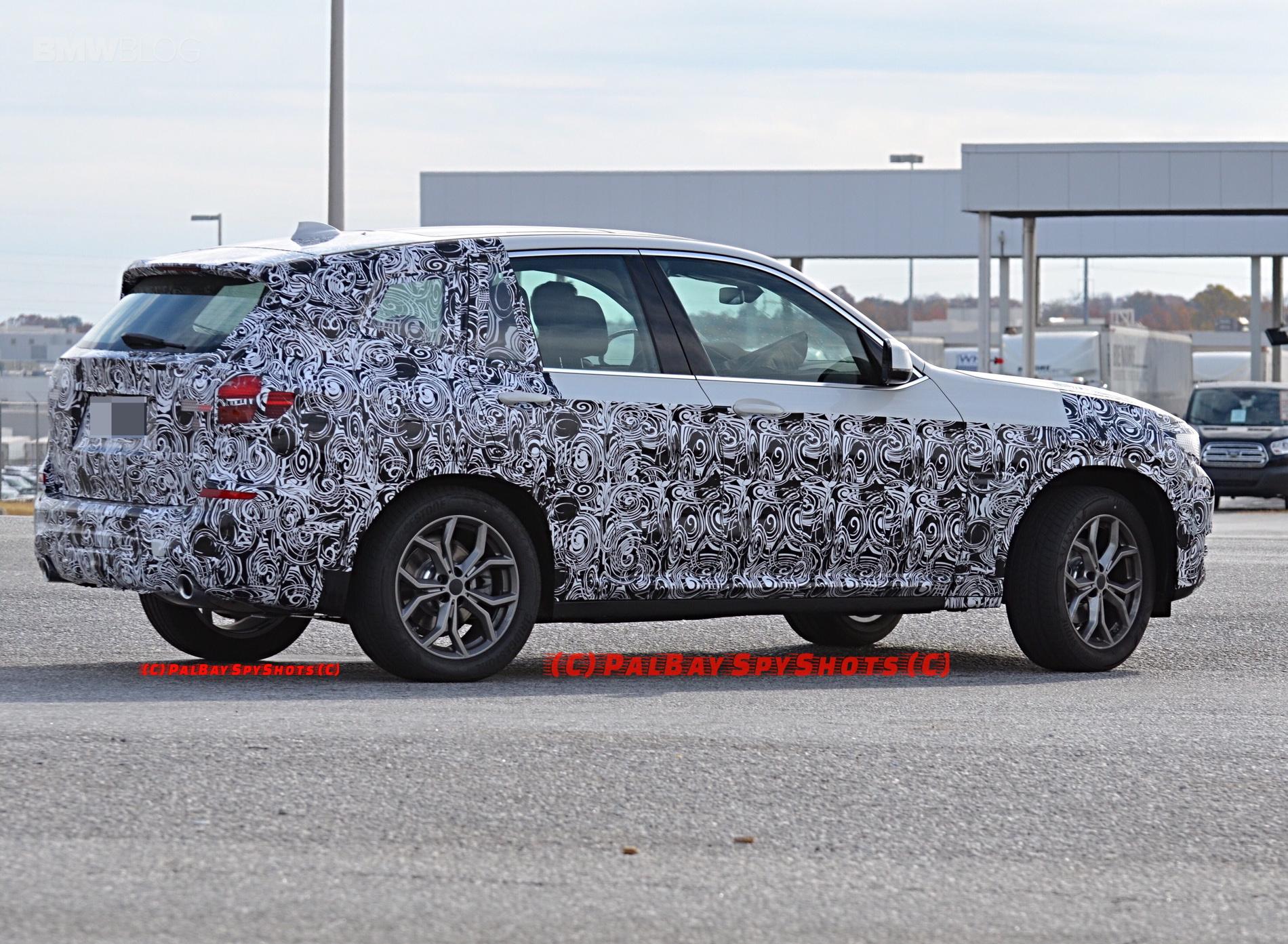 2016 - [BMW] X3 [G01] - Page 6 BMW-X3-M40i-spy-photos-14